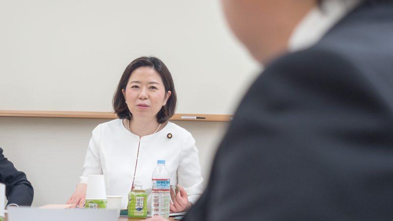 豊和グループ本部で自見はなこ参議院議員「国政報告会」及び「意見交換会」開催!