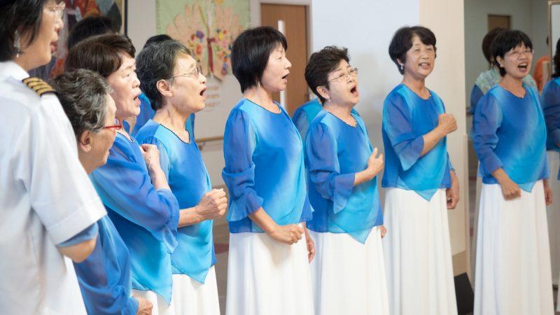 コーラス志摩の皆様がデイサービスセンター豊和で歌を披露!