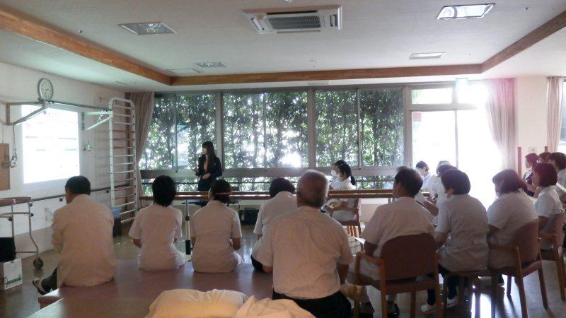 豊和病院で感染防止、医療安全について勉強会を行いました!