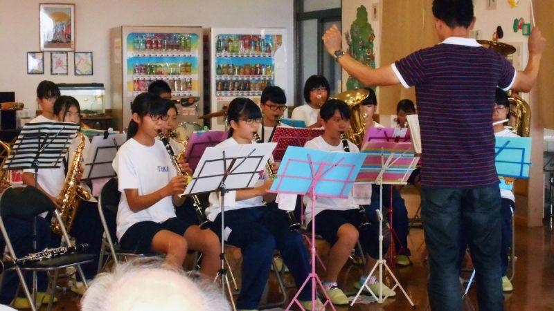 毎年恒例!東海中学校ブラスバンド部の演奏会at志摩豊和苑