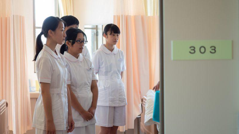 豊和病院で1日看護体験を行いました(2日目)