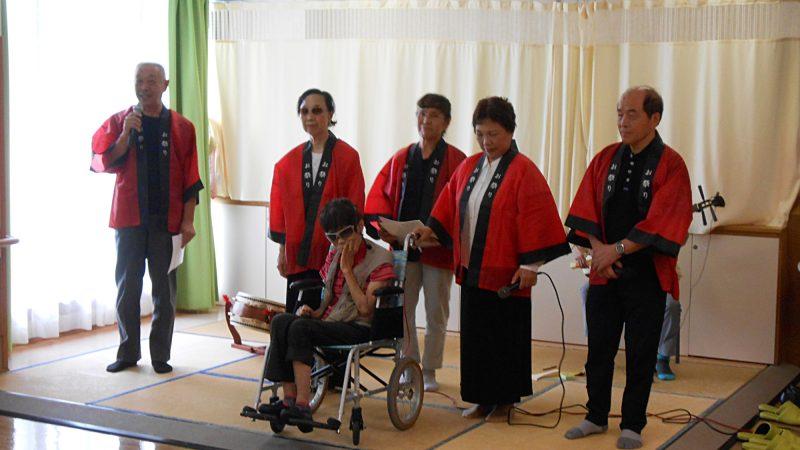 介護老人保健施設志摩豊和苑の認知棟に「ぴよぴよ会」様が慰問に来てくださいました!