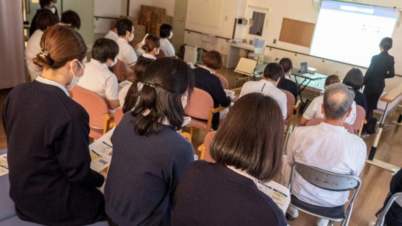 豊和病院で医療安全及び感染防止研修会を行いました!