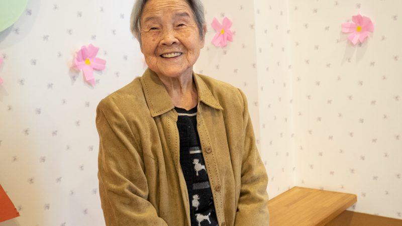 『健康長寿の秘訣』夏川ヤソヱ様 100歳(デイサービスセンターあらしま)