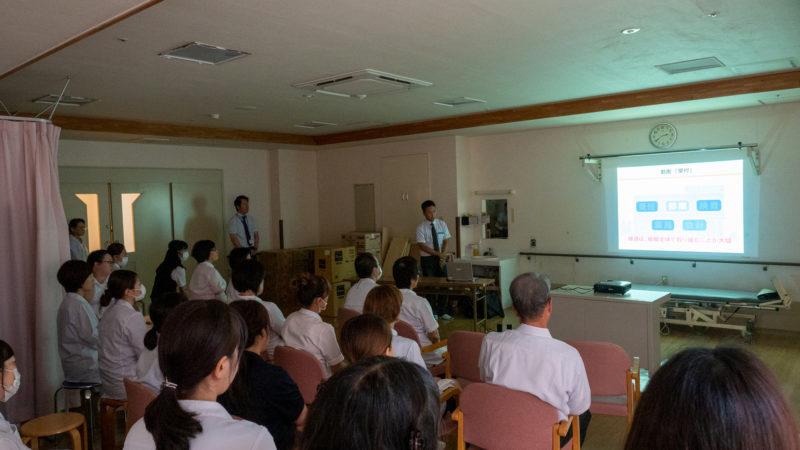 豊和病院で接遇力の重要性・口腔ケアにおける感染対策研修会を行いました!