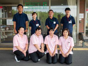 訪問看護ステーション豊和職員集合写真