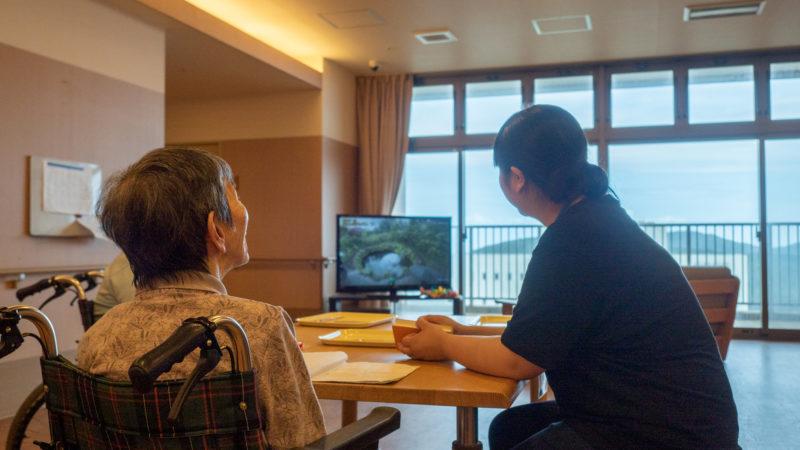 特別養護老人ホームあらしま苑で皇學館大学の学生が介護を学びました!