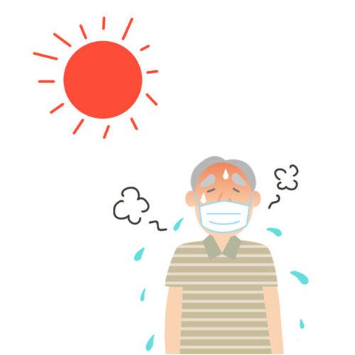 高齢者熱中症イメージ