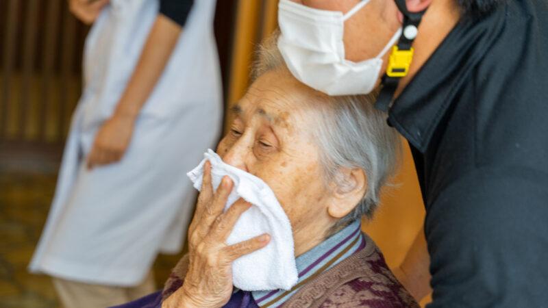 特別養護老人ホームうがた苑とグローバルキッズルームうがたが合同で防災訓練を行いました!
